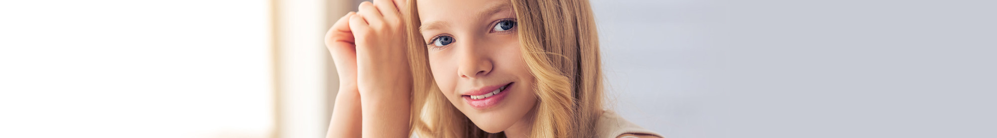 pediatric white crowns